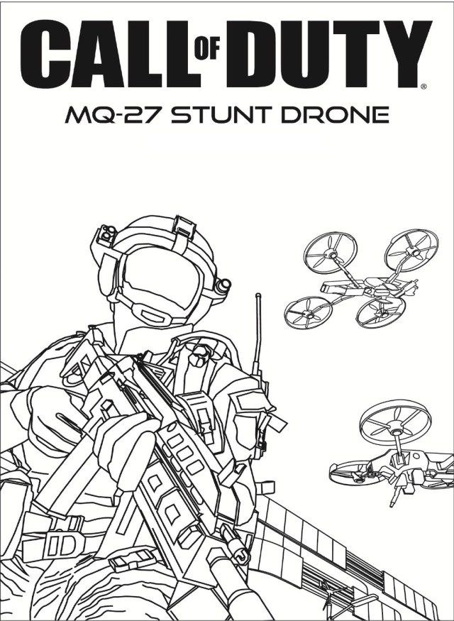 27+ Inspiration Photo of Call Of Duty Coloring Pages ...