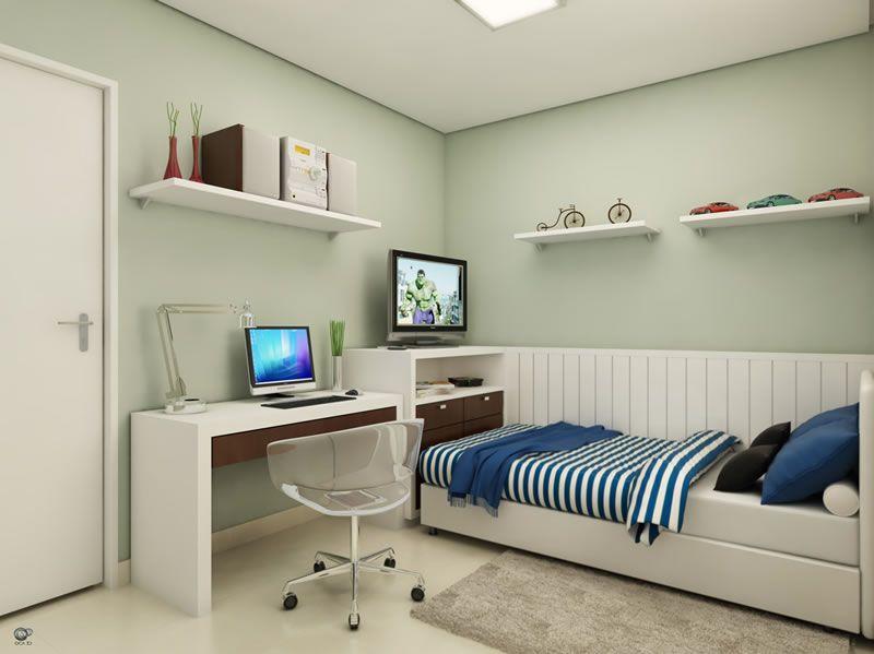 Como decorar quarto de solteiro Bedrooms