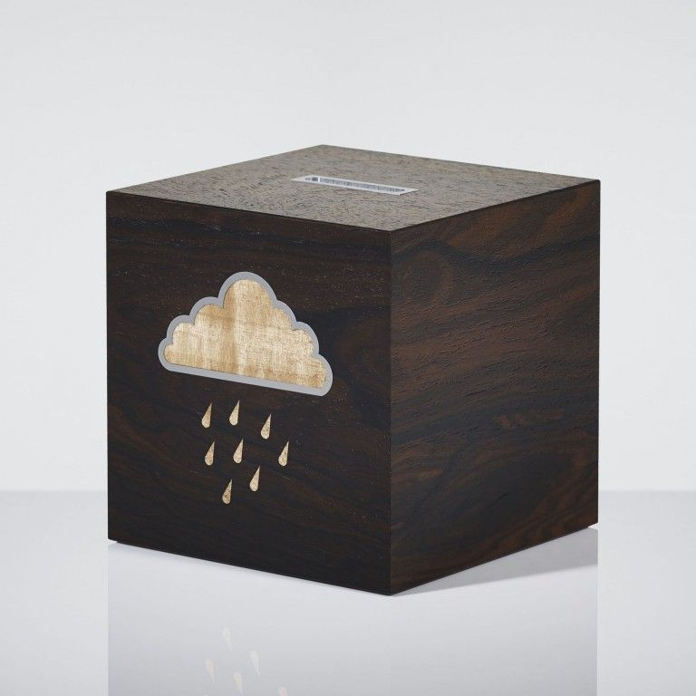Saving for a Rainy Day Money Box