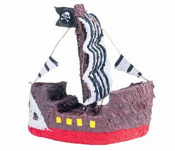 Pirate Ship 15 1/2in x 16in Pinata