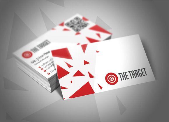 The Target Business Card on Creative Market -> http://crtv.mk/tT1N ...