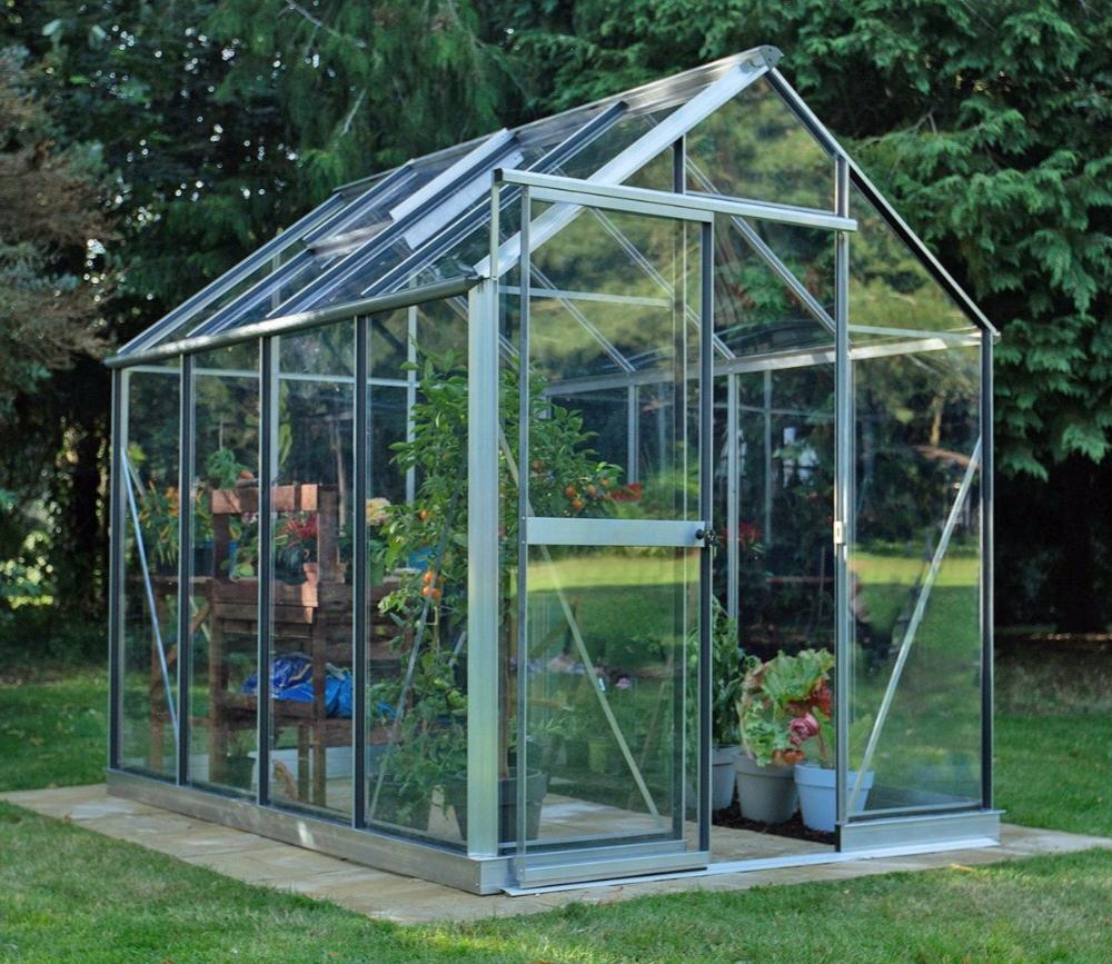 Evika G1 Greenhouse 6 X 8 Ft Garden Site Back Gardens Garden