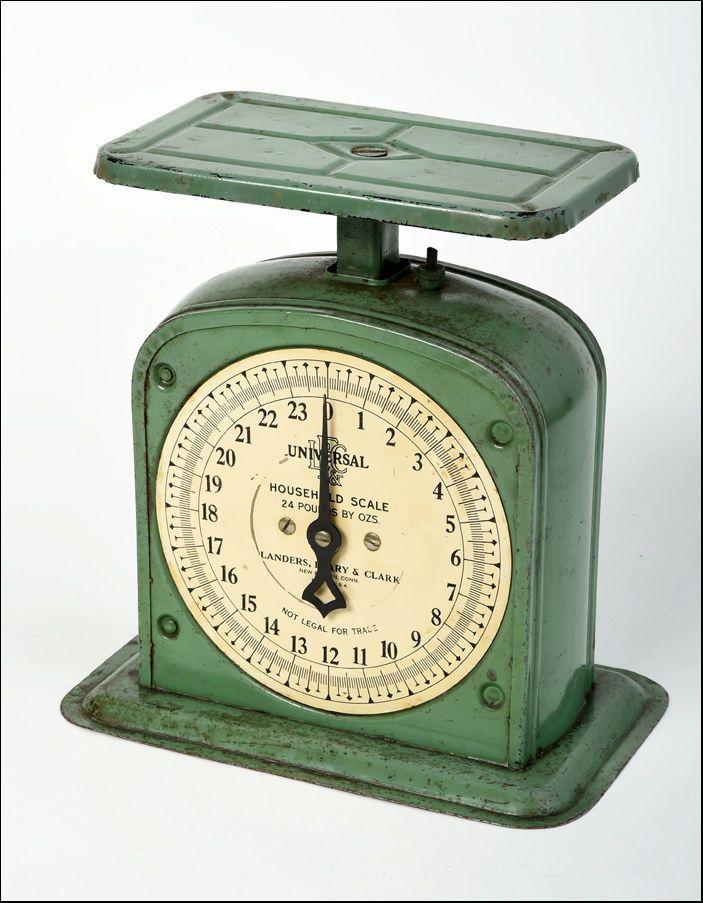 kitchen scale universal Vintage