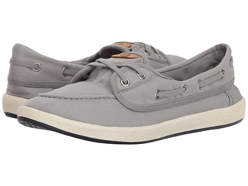 97dfaabd97a1f Sperry Drift Hale (Grey) Women's Shoes. Sport classic laid-back ...