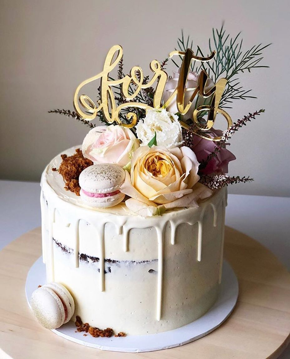 Pin On 50th Birthday Cake