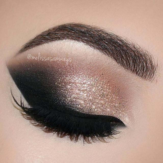 Rose Gold Glam Cat Smokey Eyes Makeup Tutorial Make Up Pinterest