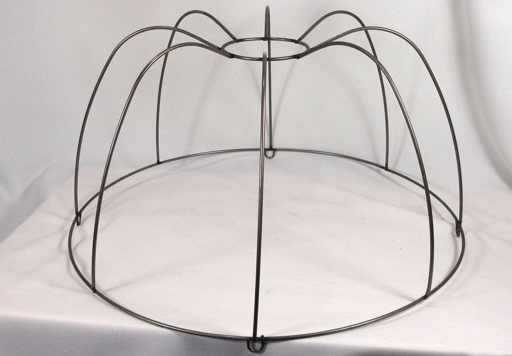 Lamp Shade Wire Frame Large For Pendant Custom Hand Made