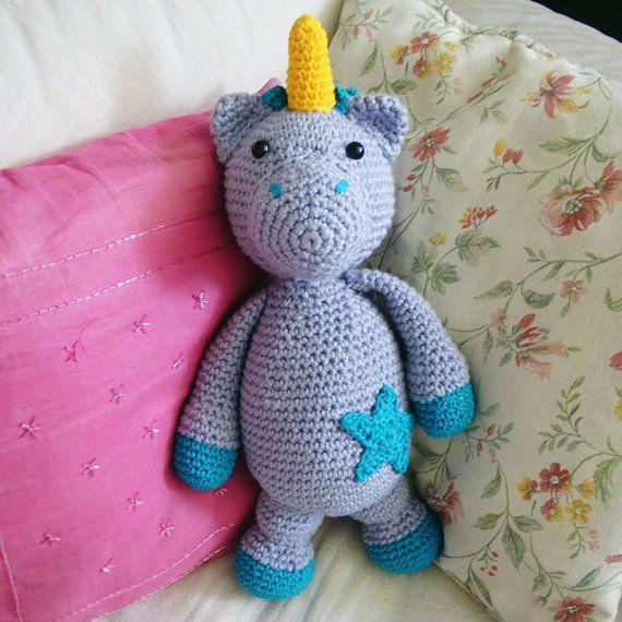 patron de unicornio amigurumi en crochet por talentovenezolano ...