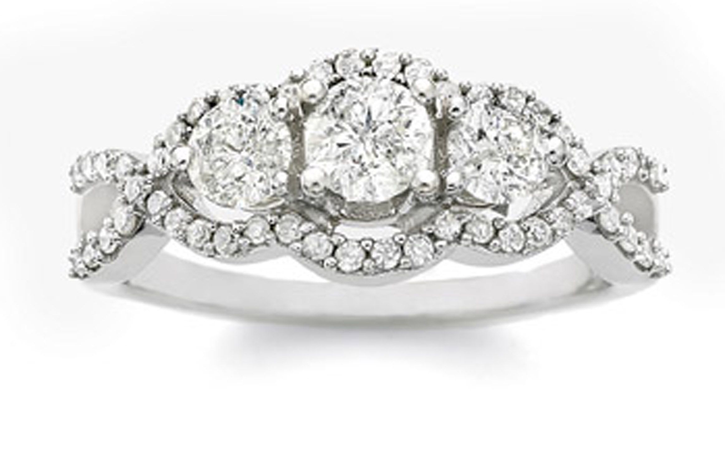 diamond engagement ring Wedding Registry MustHaves Pinterest
