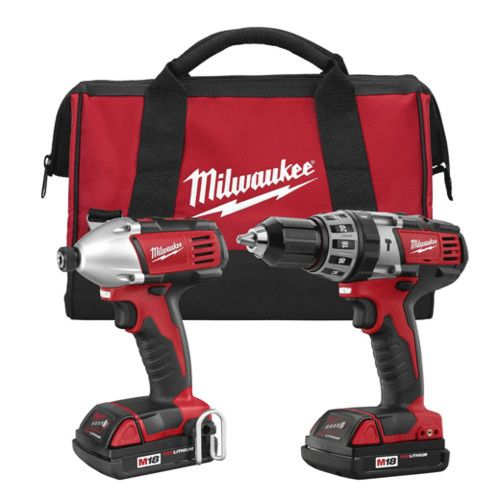 Milwaukee M18 18v Li Ion Compact 2 Tool Combo Kit 2697 22ct Reconditioned Authorized Seller Full Warranty Money Back Gu With Images Cordless Power Tools Milwaukee Tools