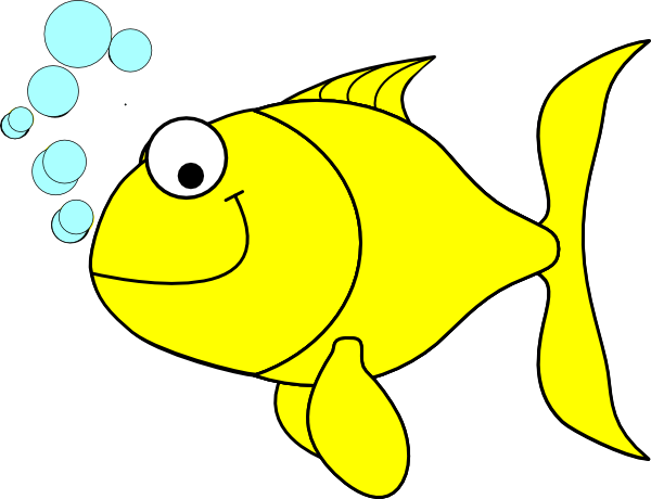 fish clipart fish yellow clip art vector clip art online rh pinterest com clipart of a fish black and white clip art of a fish fry
