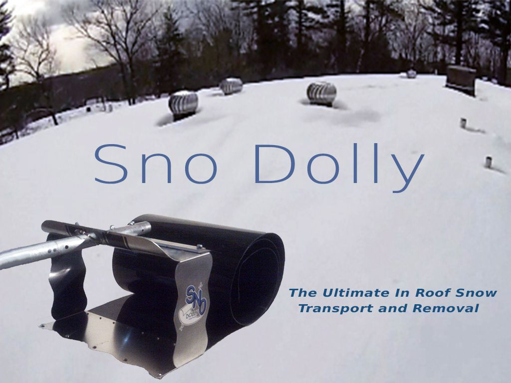 Roof Snow Tool Removal Equipment