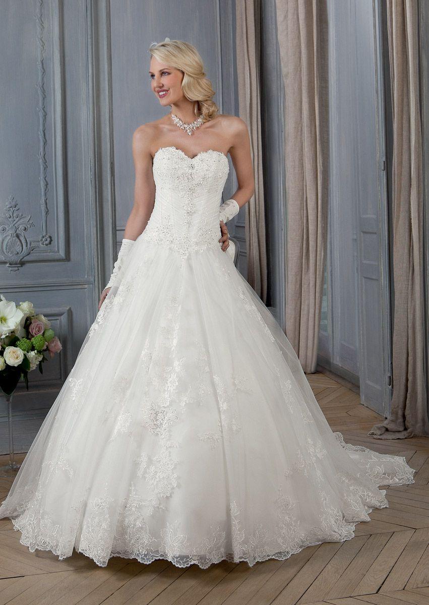 5b3fdd3b2c Bella Création, Poupée | Robe de mariée 2014 | Robe, Robe de mariée ...
