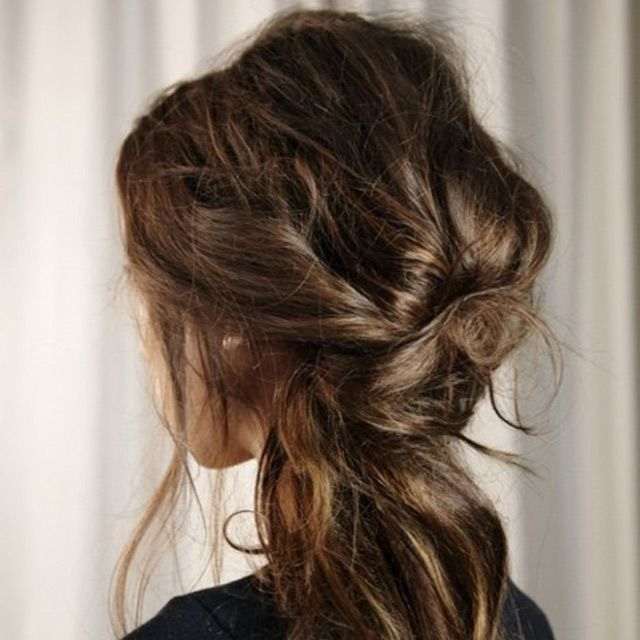 Coiffure Attachee Cheveux Long