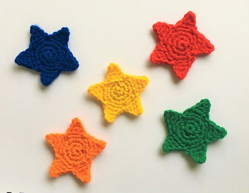 Ravelry Little Star Applique Pattern By Heather Taylor Crochet