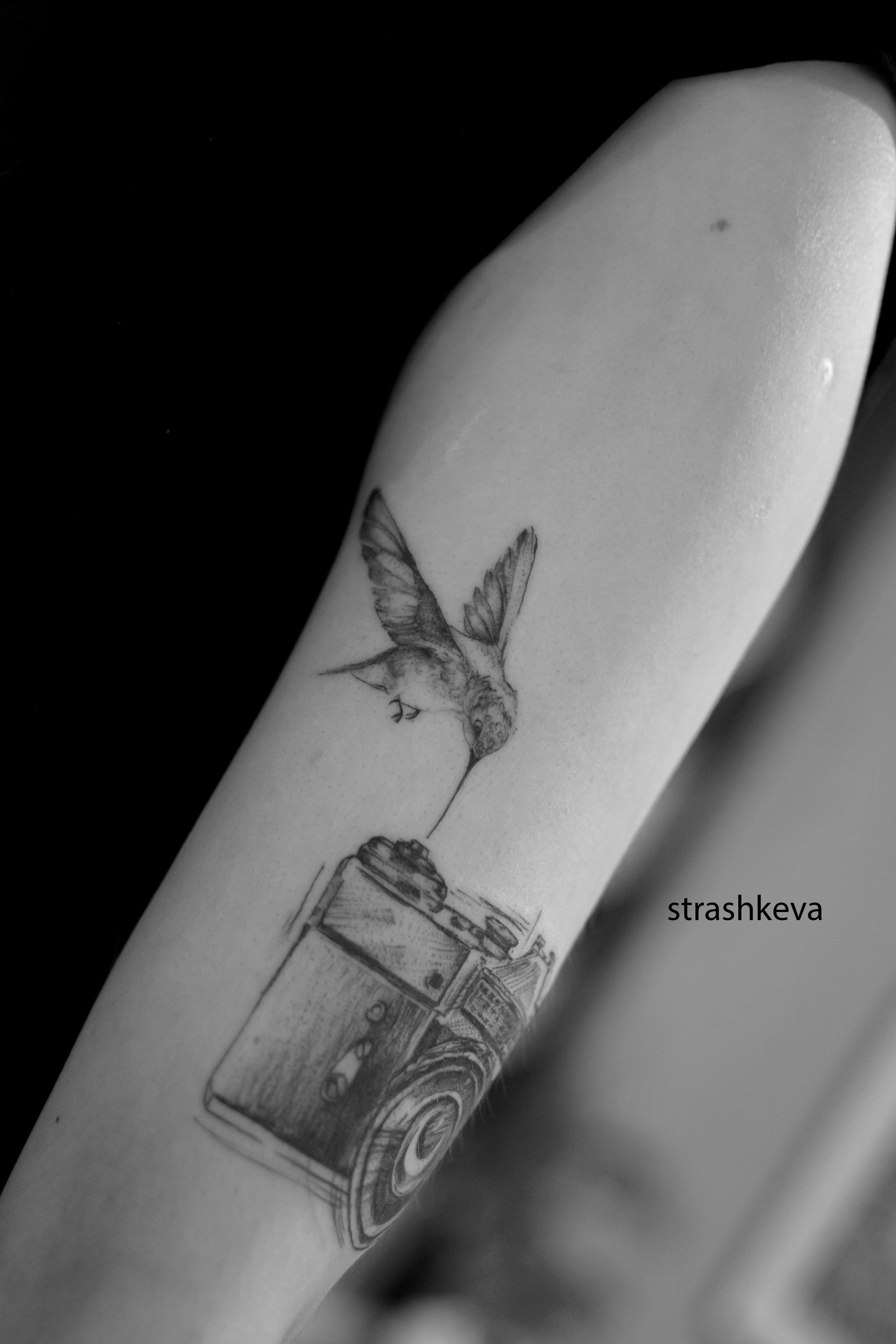 Pin Na Kolibry Tatuaze Kolibra