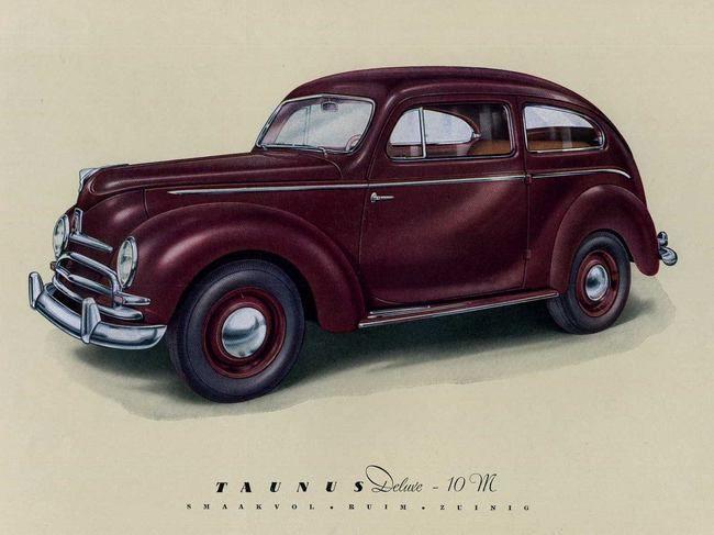 1948 52 ford taunus type g73a ford taunus pinterest ford