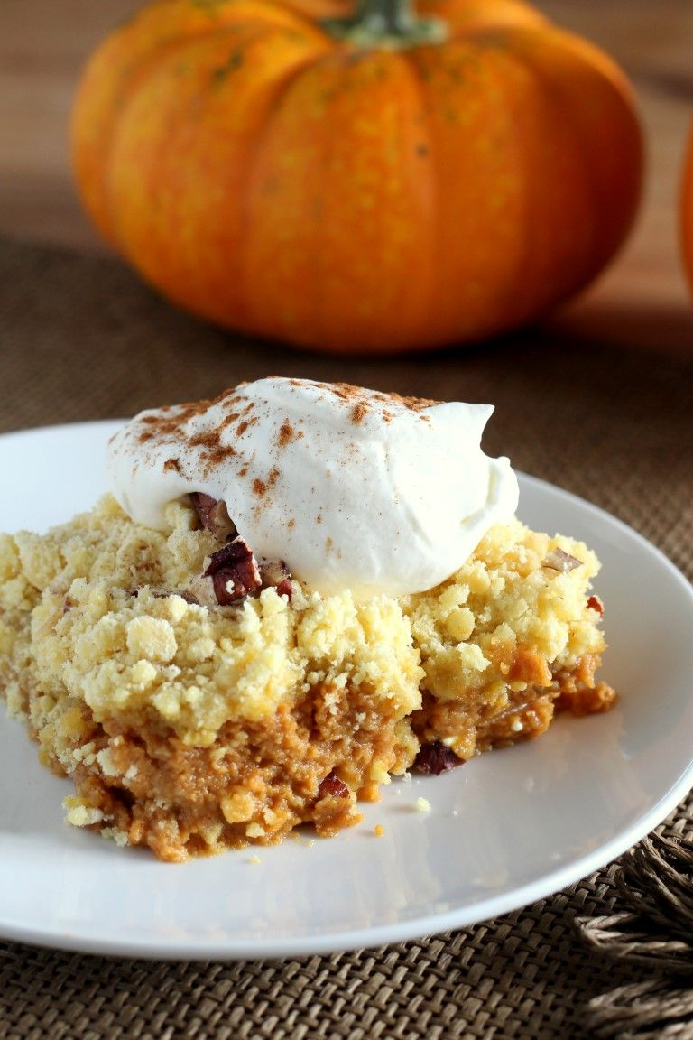 pumpkin crunch cake recipe this pumpkin crunch dump cake is simple to make and the 6854