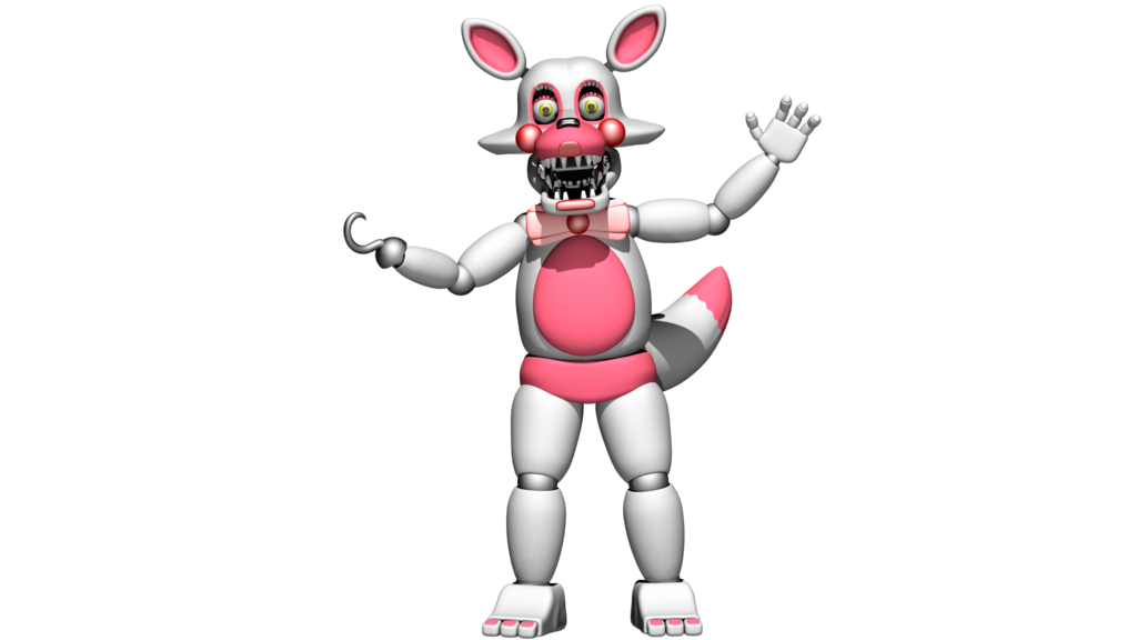 toy foxy funtime foxy by bantranic on deviantart mangle and her