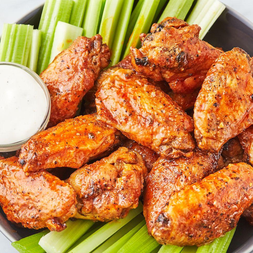 Air Fryer Chicken Wings Recipe in 2020 Chicken wing