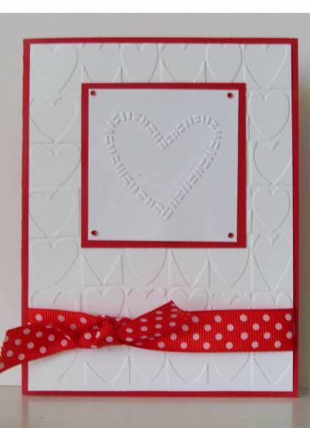 cuttlebug valentine card ideas  Google Search  Cards Cards