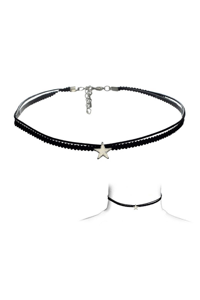 Star pendant choker more fashion pinterest star pendant