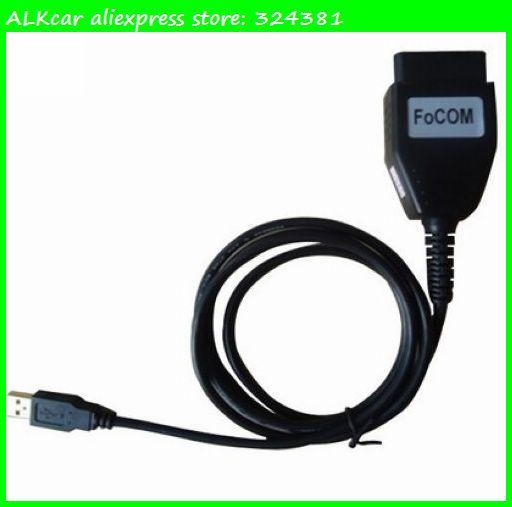 ALKcar For Ford-VCM OBD FOCom OBD Diagnostic tool For FORD VCM obd scanner for ford FoCOM For Jaguar Mazda Diagnostic Interface