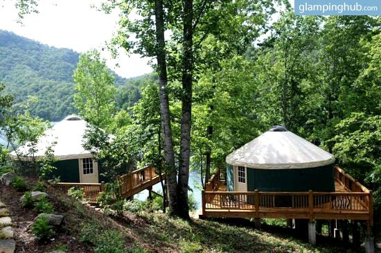 Luxury Camping near Smoky Mountains, NC   Glamping in North Carolina
