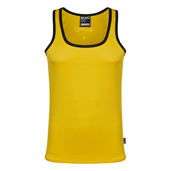 Versatile in more ways than one the Calypso is one of our most popular vests. This vest uses COOLEDGE® technology allowing your skin to breathe freely, helping you work out with confidence.    Available in 5 colours, you'll look and feel great day-time, night-time & play-time.    Functional and versatile the Calypso Vest features low cut neckline, contrasting rib around the arms and neck and looks great with a pair of jeans, shorts or as the perfect training vest. AUD 45.00