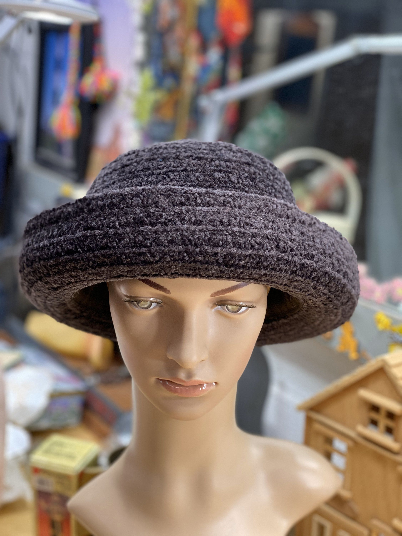 Women's Casual Hat - Fashionable Winter Ladies Hat - Church Hat #churchitems