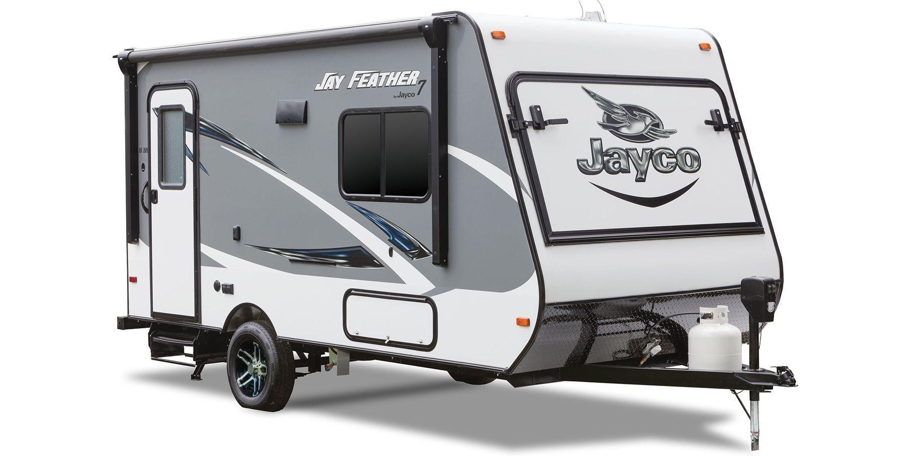 ... Feather 7 travel trailer models are towable by most minivans,  crossovers and SUVs—consult with your automobile manufacturer or owner's  manual.