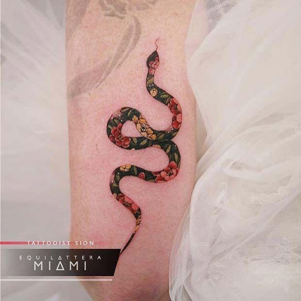 Photo of 23 idées de tatouage de serpent audacieux et badass pour les femmes