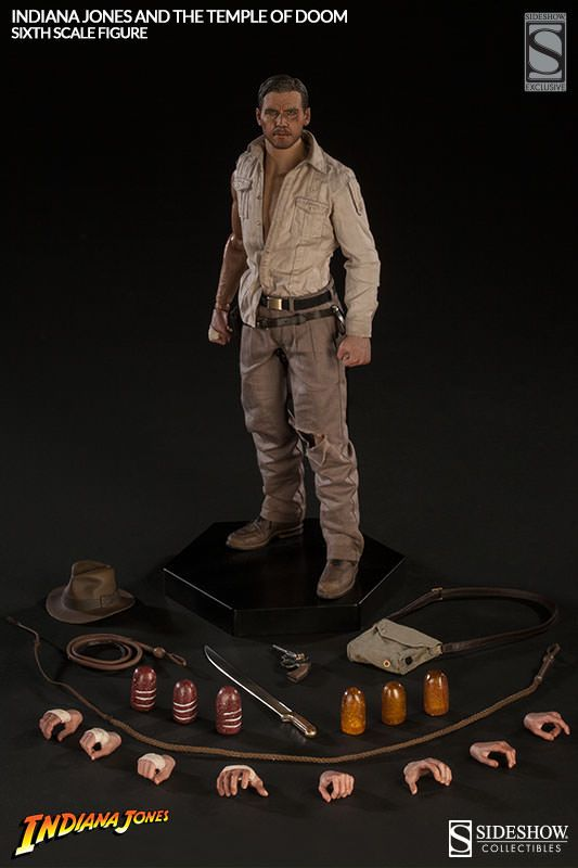 7da423985213f Indiana Jones Temple of Doom Sixth-Scale Figure | Best of the Rest ...