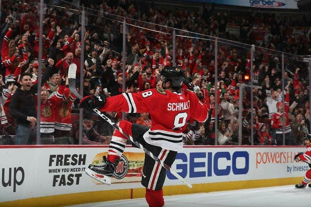 Nick Schmaltz Hockey goal, Team canada, Chicago blackhawks
