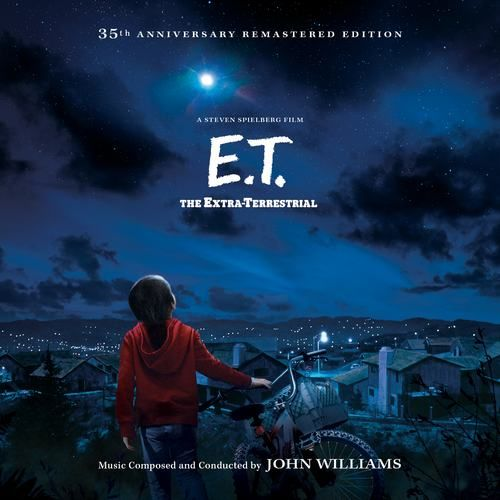 E.T. the Extra-Terrestrial Soundtrack | Soundtrack Tracklist | Close encounter of the third kind, Extra terrestrial, Soundtrack