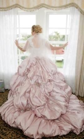 Justin Alexander 9615 18: buy this dress for a fraction of the salon price on PreOwnedWeddingDresses.com