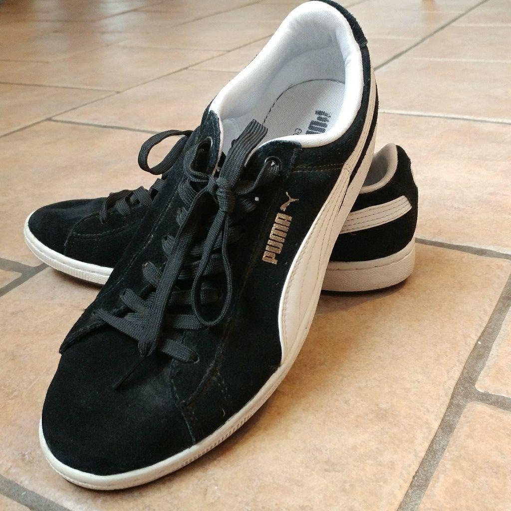 Puma Shoes | Puma Eco Ortholite Classic Black & White Shoe