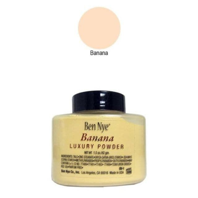Ben Nye Banana Luxury Powder 1.5 oz Shaker Bottle - Star Costumes