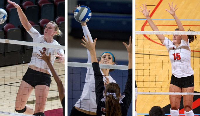 Volleyball Weekly Notebook Conference Action Begins Friday Volleyball Conference Volleyball Players