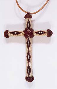 Cross - horse hair braiding