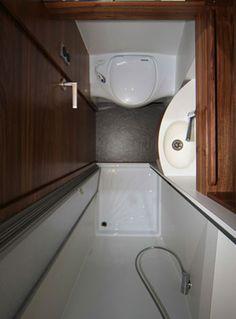 Mercedes Benz Sprinter Camper >> Mercedes-Benz Sprinter Van Custom Bathroom. | Camper ...