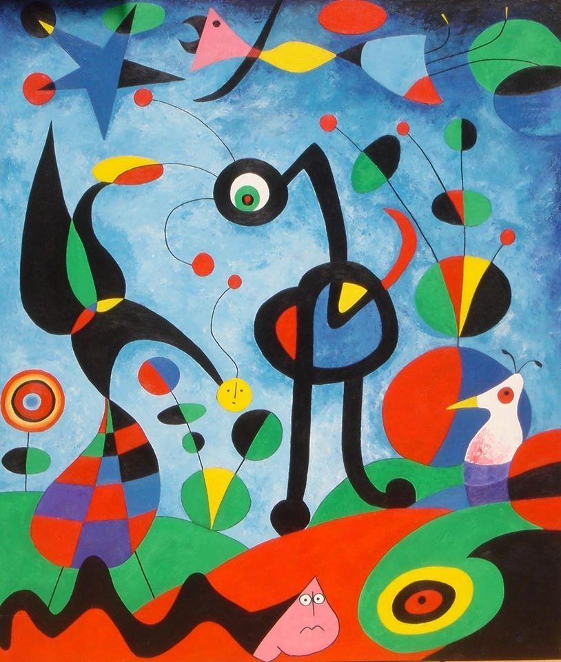 Joan Miró El jardin, 1925 in 2020 Joan miro paintings