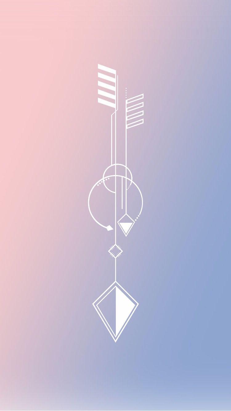 iphone wallpaper serenity rose quartz pantone 2016 arrow. Black Bedroom Furniture Sets. Home Design Ideas