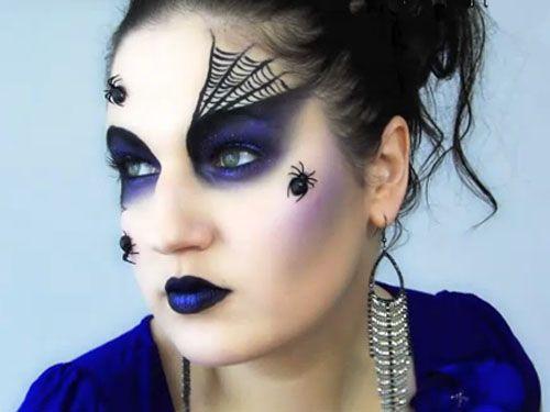 videos de maquillaje para carnavales o halloween - Maquillaje Bruja