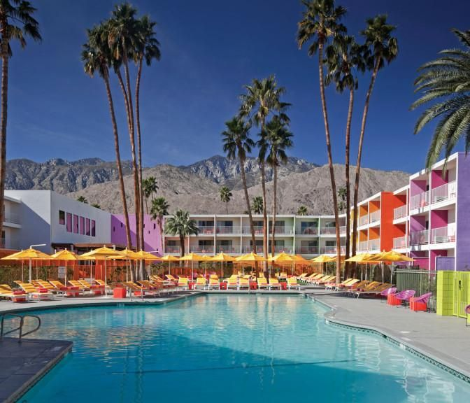 Boutique Hotels Near Downtown Palm Springs The Saguaro With