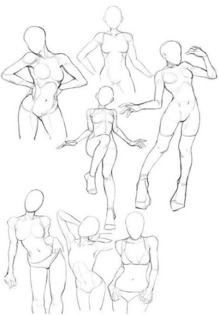 Fashion Drawing Poses Anatomy 37+ Trendige Ideen