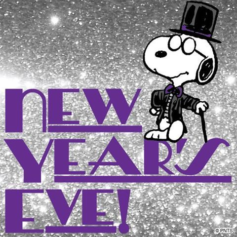 NEW YEAR'S EVE! MORE Cartoon & TV images http://cartoongraphics.blogspot.com/ ~And on Facebook~ https://www.facebook.com/dreamontoyz  Peanuts - Snoopy wearing top hat and tails #Holiday