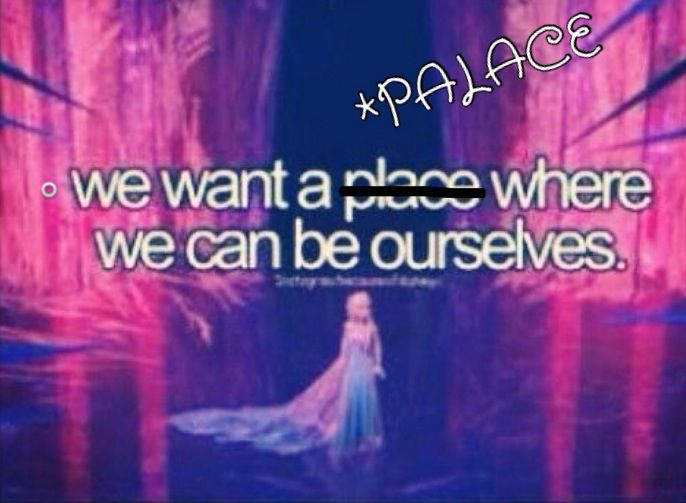 Yes. We all want a palace!!