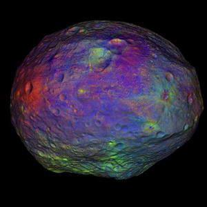 NASA Dawn Melihat Asteroid Vesta Berair