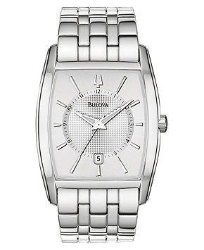 Bulova Watch, Men's Stainless Steel Bracelet 26mm 96B121 - Bulova - Jewelry & Watches - Macy's